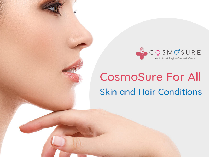 Cosmosure For All Skin and Hair Conditions