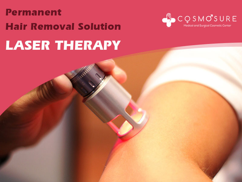 Permanent Hair Removal Solution – Laser Therapy