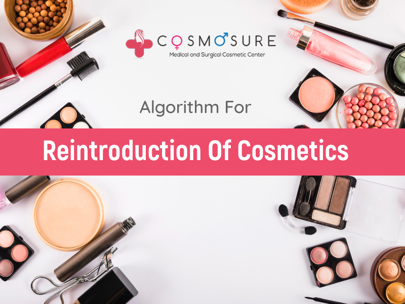 Algorithm For Reintroduction Of Cosmetics