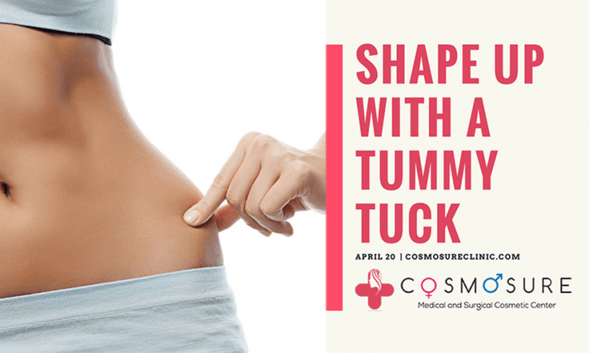 Flaunt your perfect curves with a tummy tuck