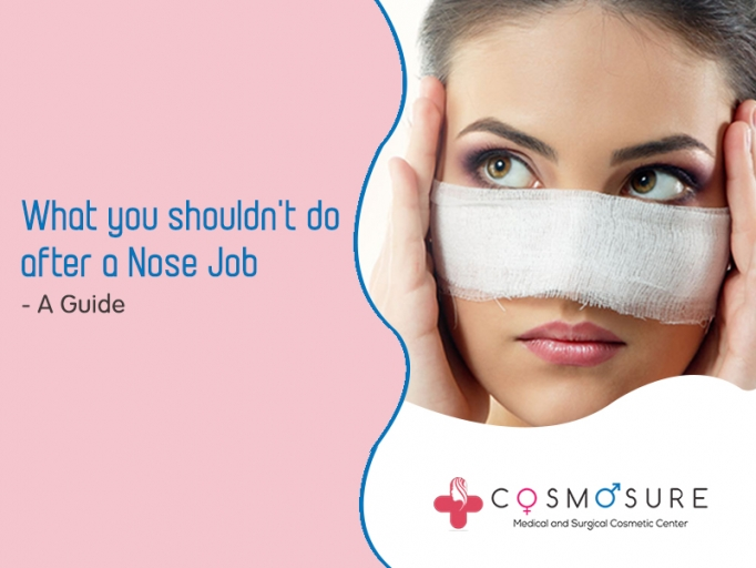 Things You Should Not Do After A Rhinoplasty