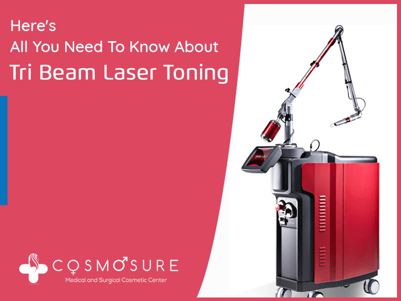 Here's How TRI Beam Laser Toning Can Get Your Beautiful Skin Back
