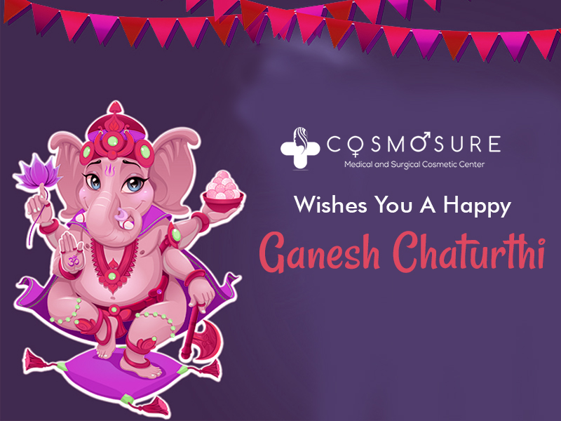 Cosmosure Wishes You A Happy Ganesh Chaturthi