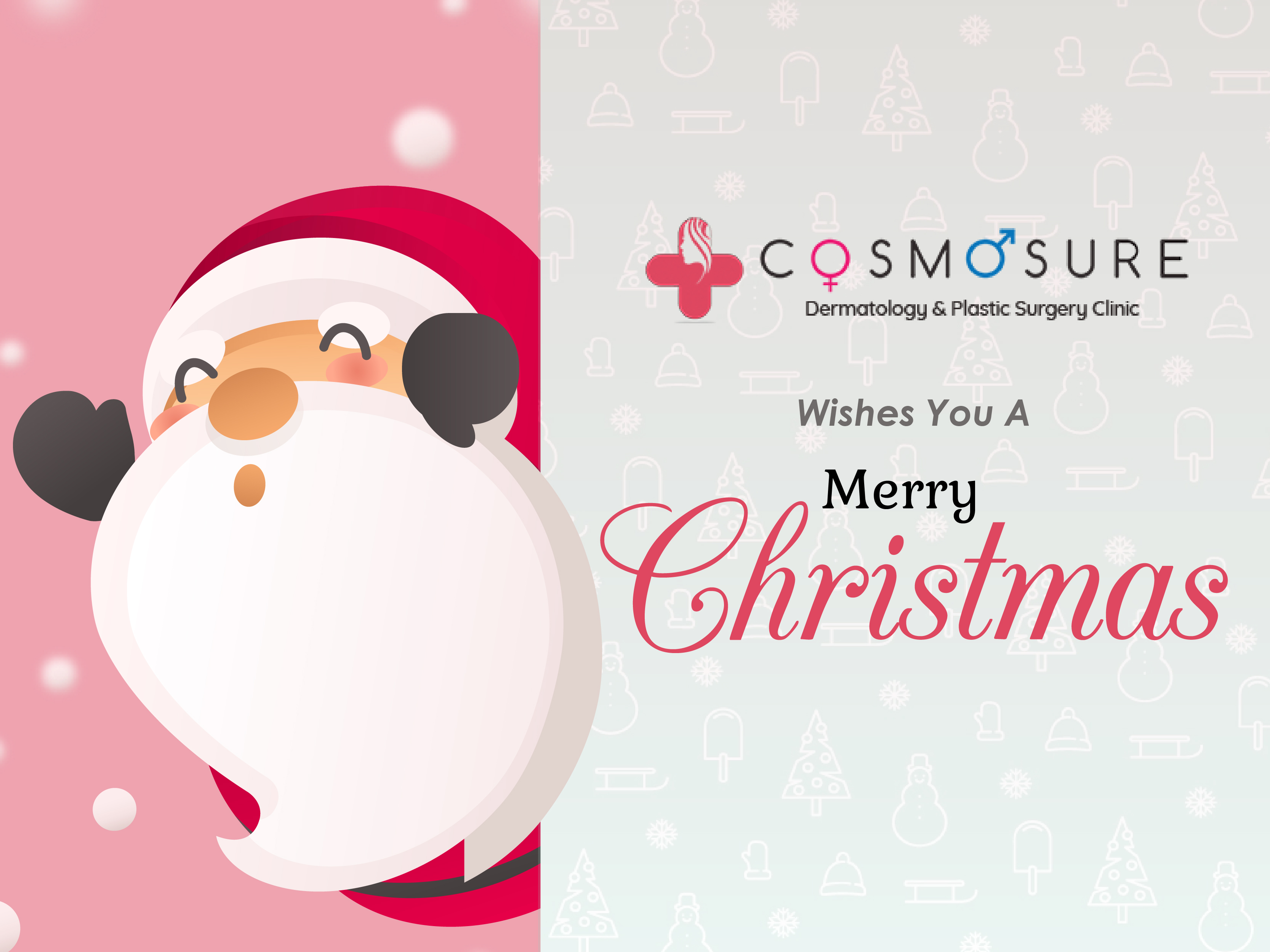 Cosmosure Wishes That Christmas Fills Your Home And Life with Happiness And Joy