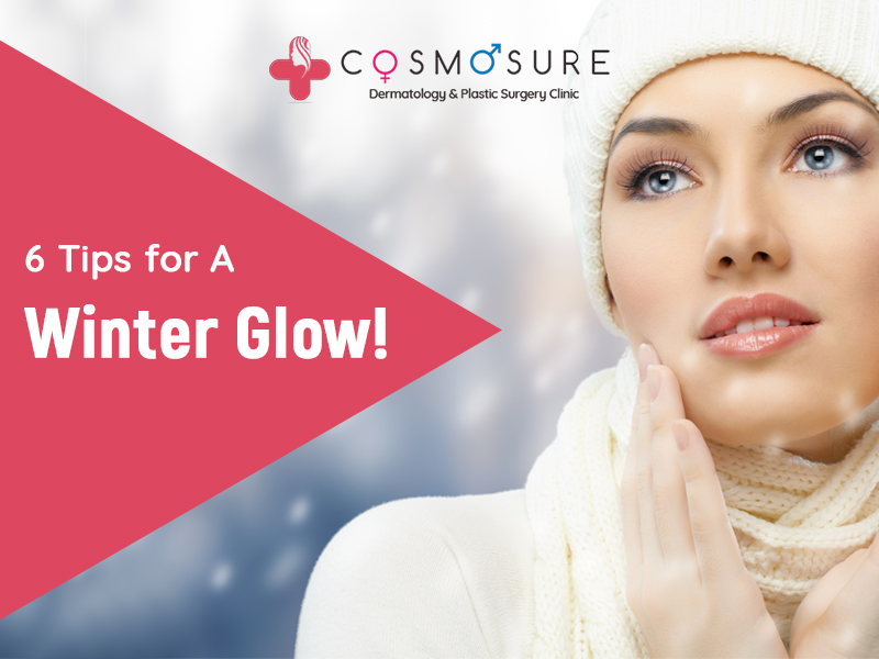 6 Tips for Winter Skin Glowing by Dr Swapna Priya, one of the best skin care Doctor in hyderabad