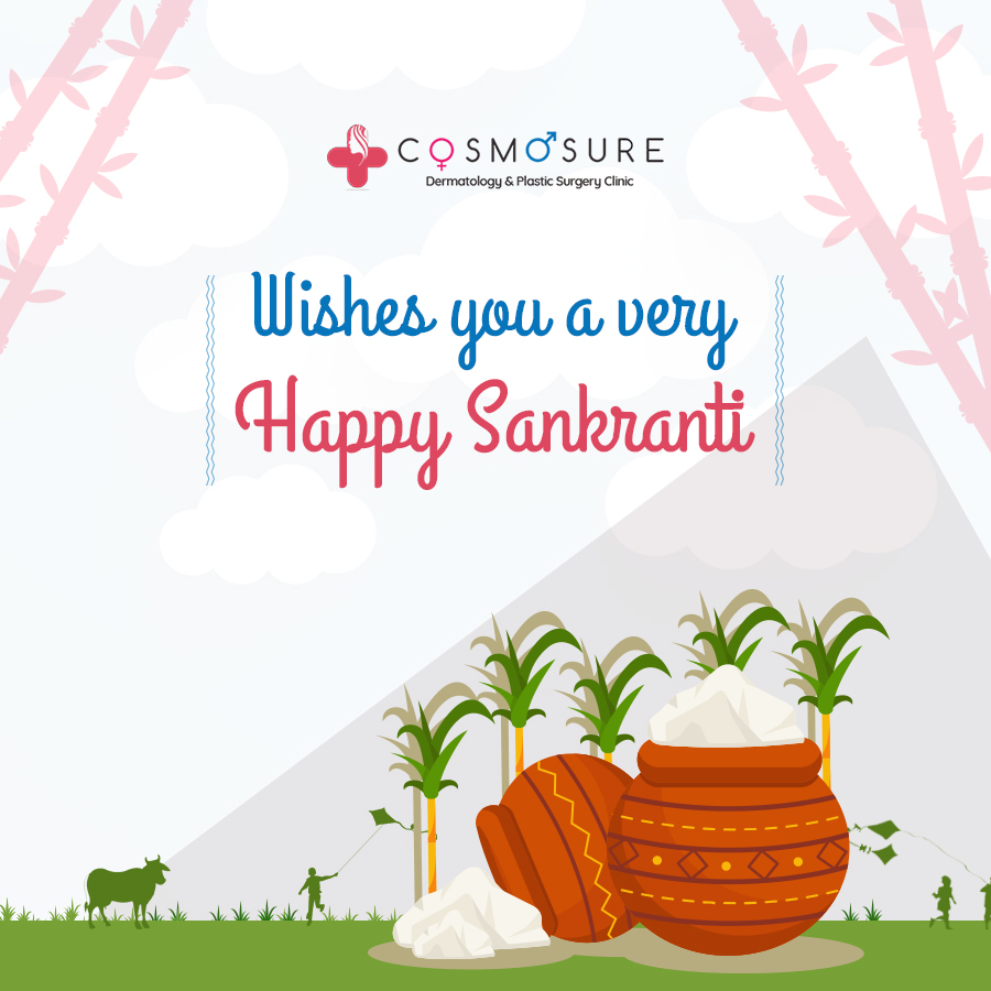 Cosmosure Clinic Wishes A Happy Makara Sankranthi To You And Your Family