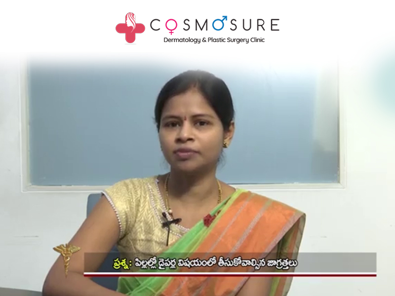 Tips To Prevent Diaper Rashes In Babies By Dr. Swapna Priya