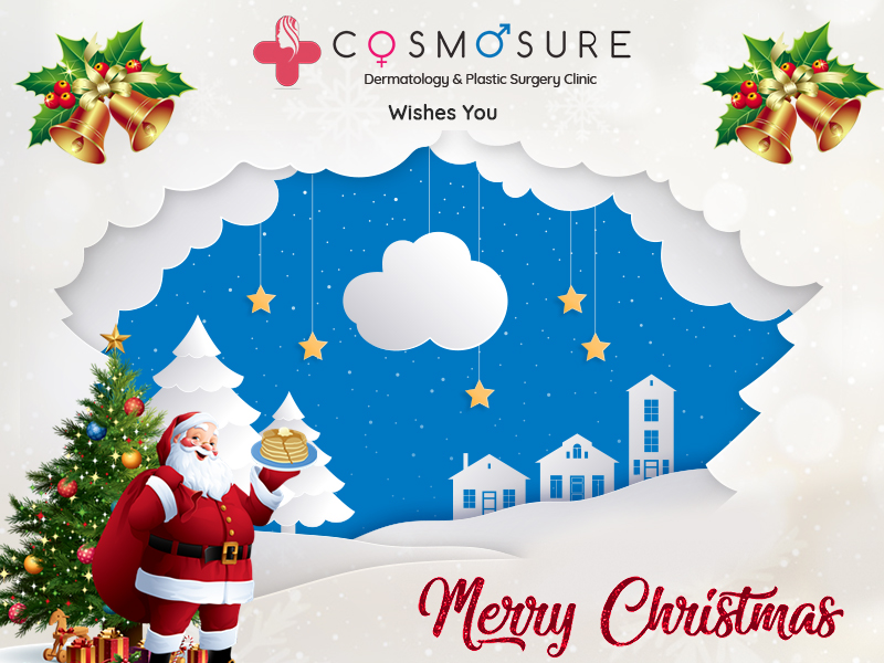 Christamas wishes by Cosmosure clinic, One of the best skin care center in Hyderabad