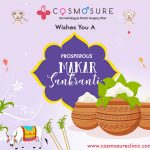 Wishing You & Your Family Lots Of Happiness And Sweet Surprises This Makar Sankranti - Cosmosure Clinic