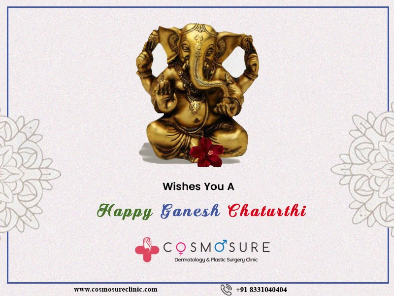 May Lord Ganesha Bless You With A Treasure Of Health & Happiness – Cosmosure Clinic